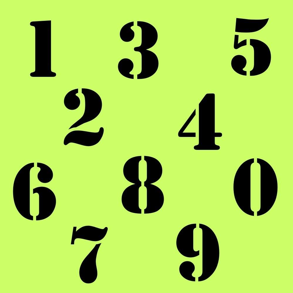 Zahlen Aufkleber Klebezahlen Ziffern Sticker 1 Bis 200 Stück Sa 14 Schwarz